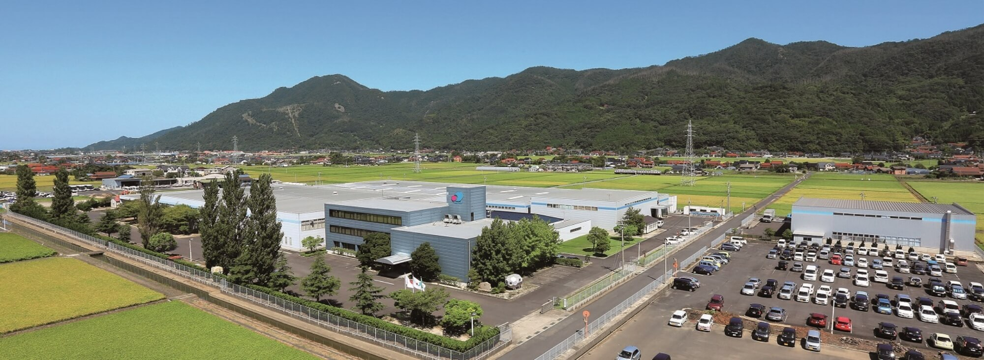 提携工場の外観写真