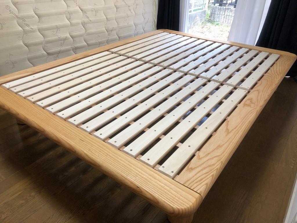 天然木 無垢材 ベッドフレーム 日本製 愛知 名古屋 天白