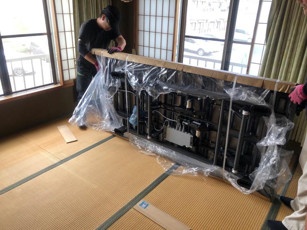 パラマウントベッド インタイム1000 設置 2階 名古屋 瑞穂