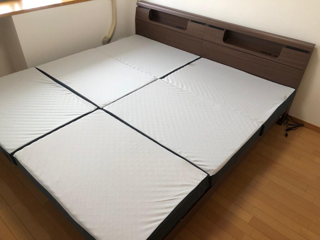 ベッドフレーム 三つ折りマットレス 名古屋 愛知
