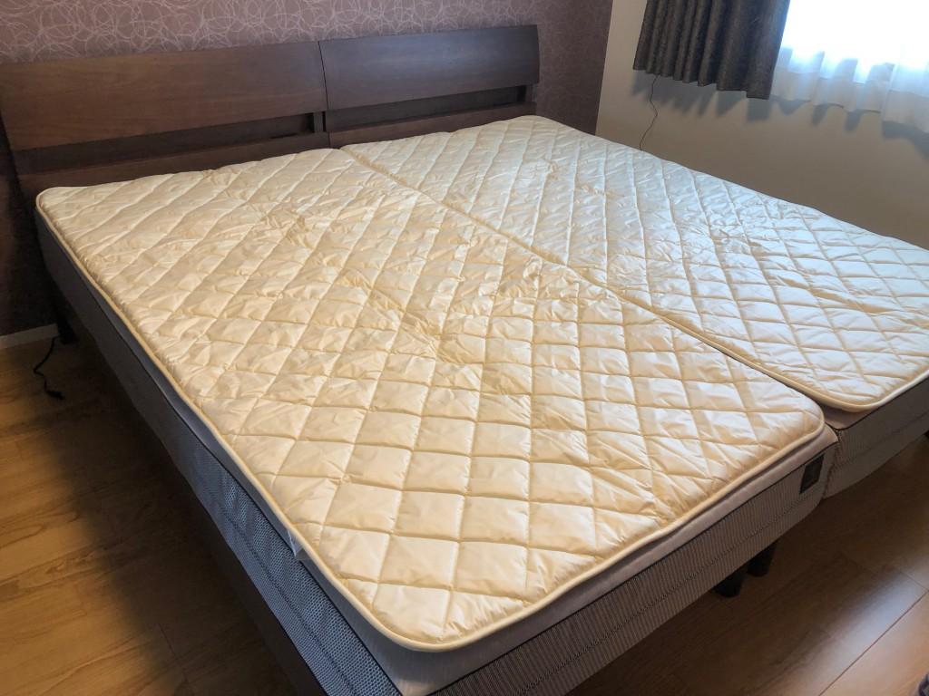 オーダーマットレス 羊毛ベッドパッド 快眠 ベッドフレーム 愛知 西尾 安城