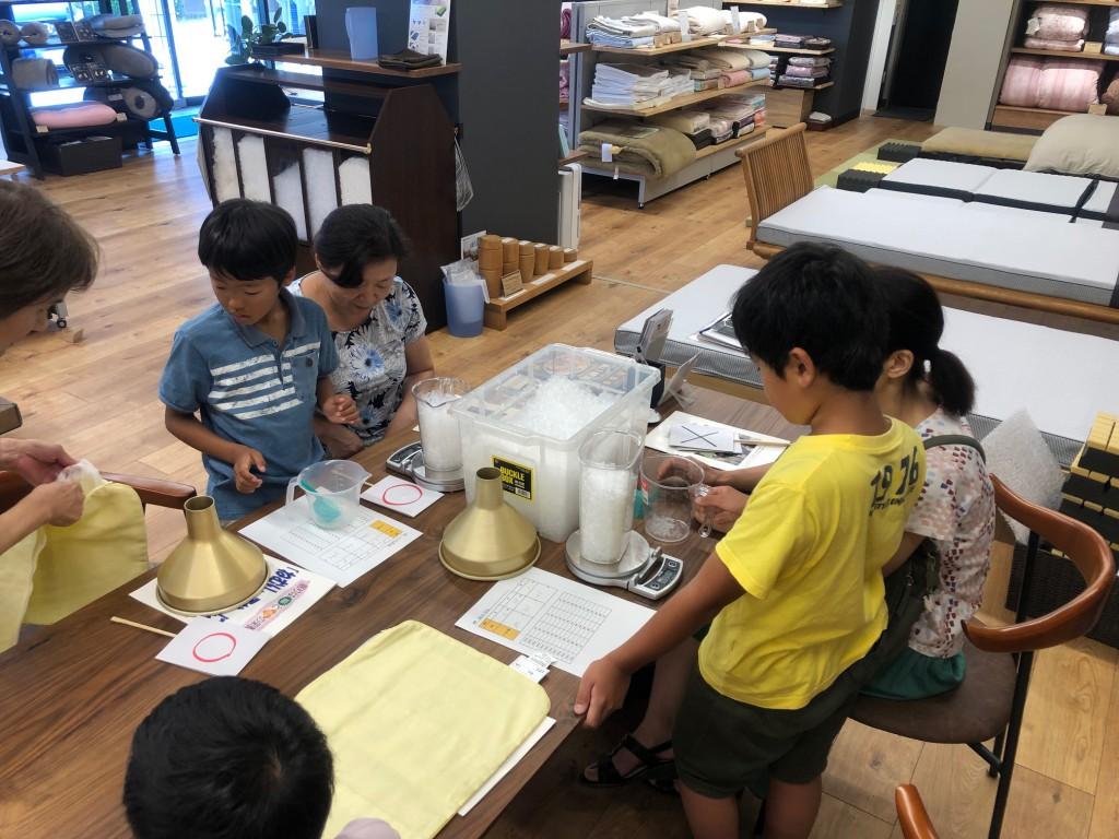 ちびっこ枕教室 夏休み 自由研究 まくら 小学生 西尾 愛知 三河