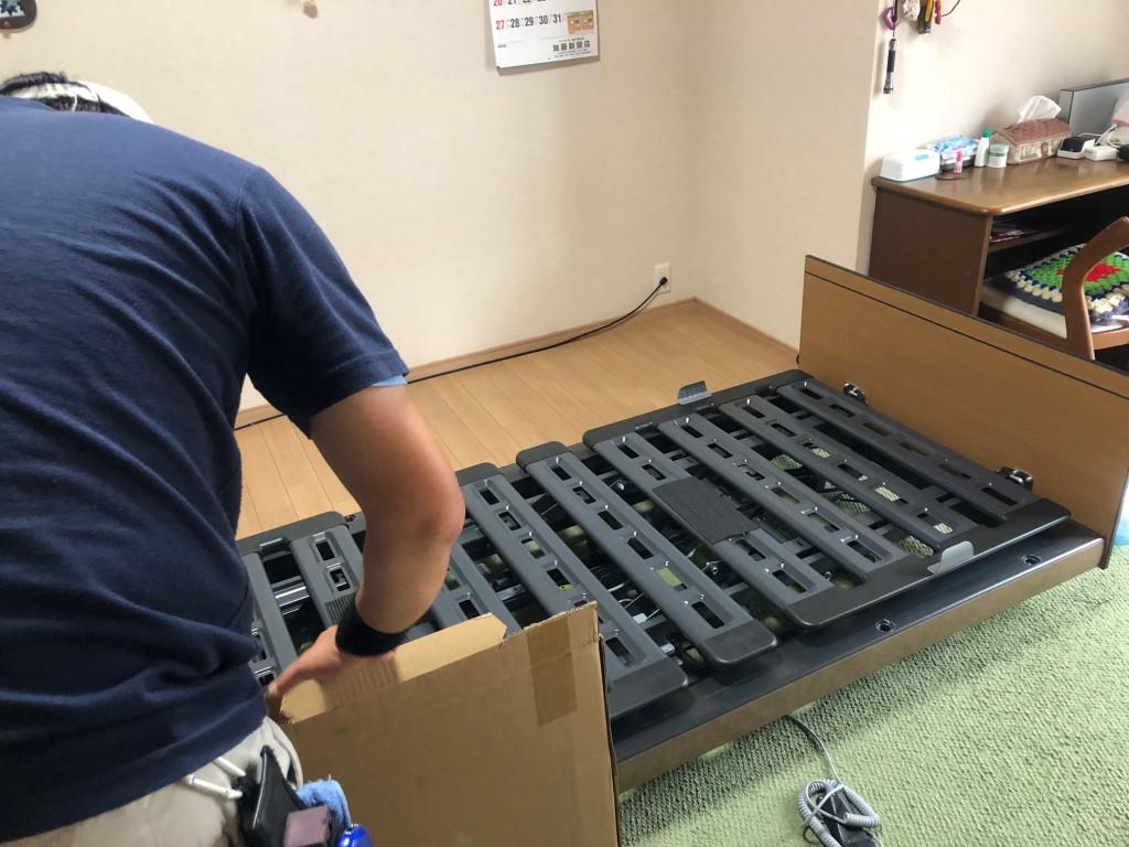 インタイム1000 電動リクライニングベッド 名東区 名古屋 納品事例