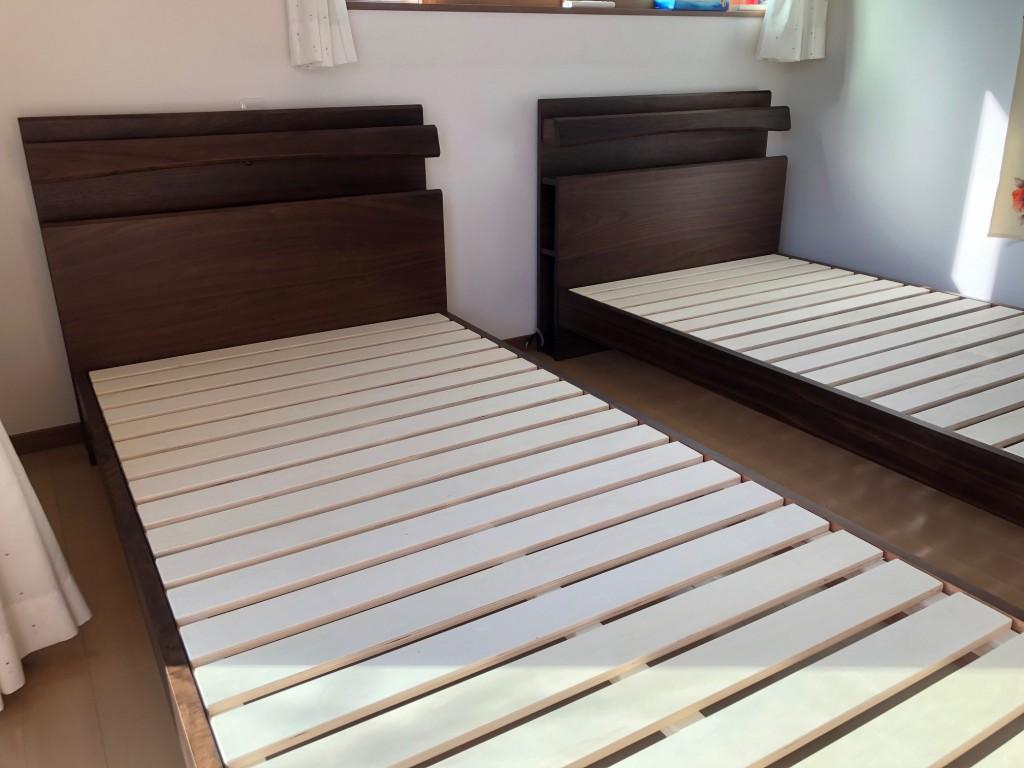 シングルツイン 初めてのベッド 敷きふとんからお買い替え 愛知 西尾