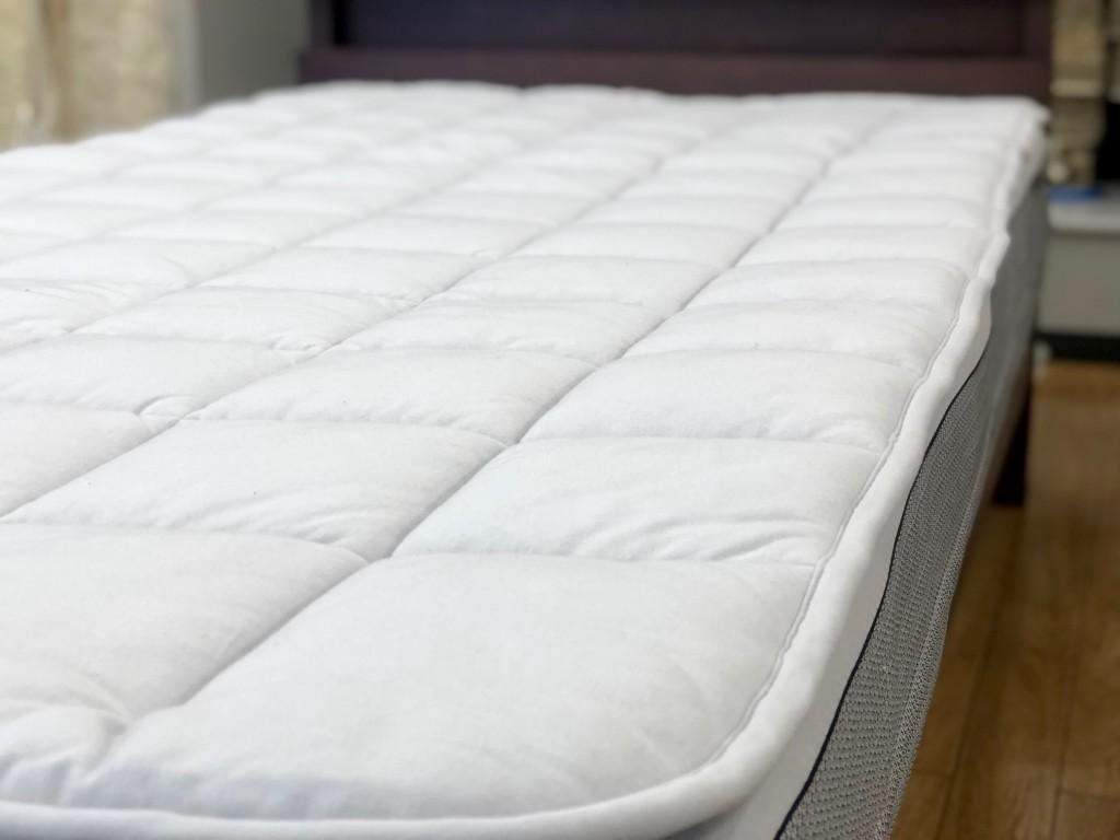 羊毛ベッドパッド 厚手 FITLABO 調湿 オーストラリア 西川 愛知