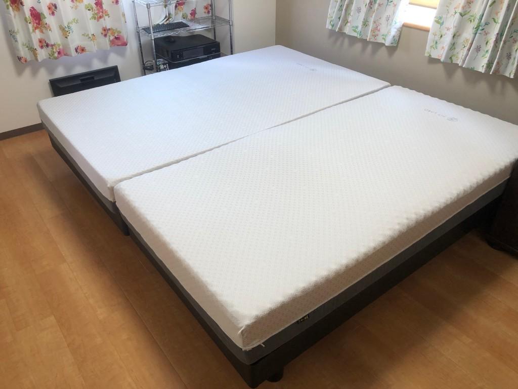 名古屋市千種区にベッドを納品させて頂きました!新婚のご夫婦です。