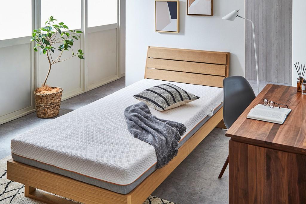 ゲルテックス180マットレスは少し弾力性のある寝心地が好きな方におすすめ。
