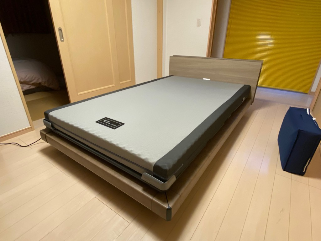 インタイム1000のセミダブルサイズを、愛知県西尾市のM様邸に納品させて頂きました。