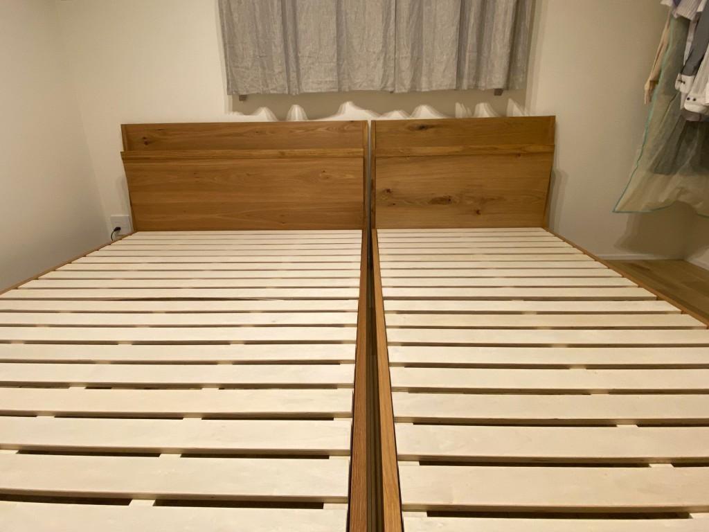 お洒落なベッドフレームをお探しなら、愛知県西尾市の睡眠ハウスたかはらへどうぞ。組立設置サービスです。