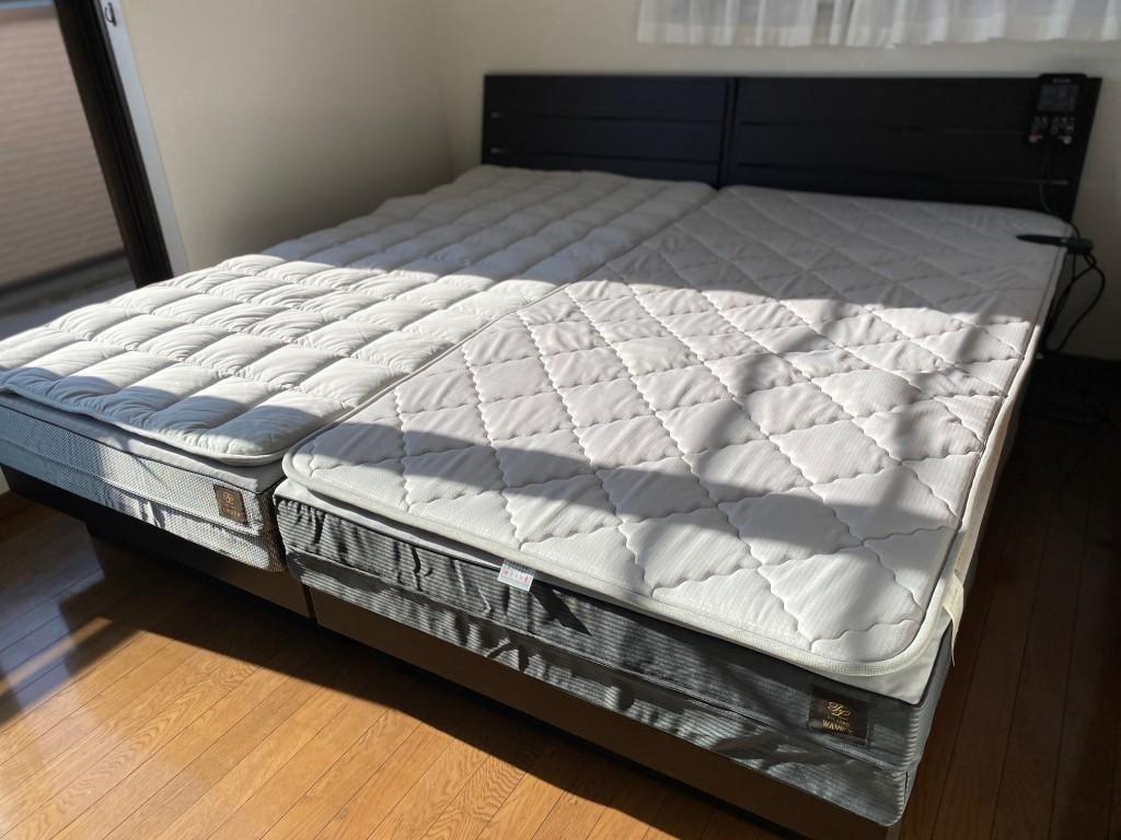 名古屋市天白区S様邸にベッドをシングルツインで納品させて頂きました!