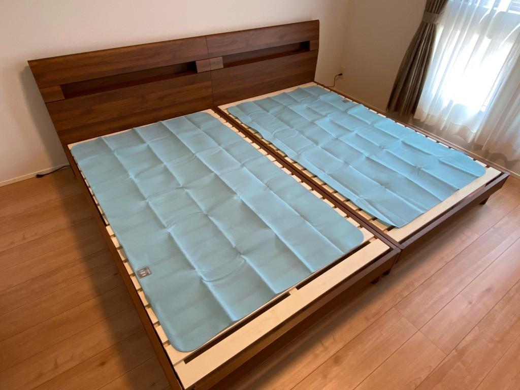 湿気を上手に逃がすことが快眠につながりますし、寝具を長持ちさせることにつながります。
