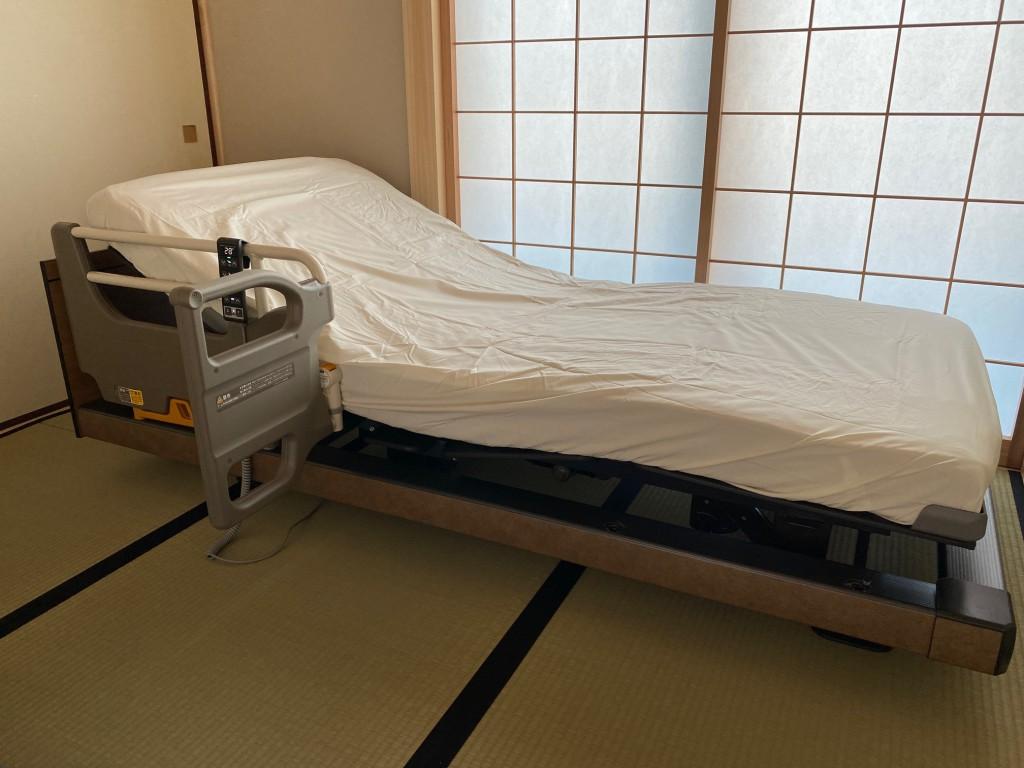 パラマウントベッド「インタイム1000」電動ベッドを、碧南市T様邸に納品させて頂きました!