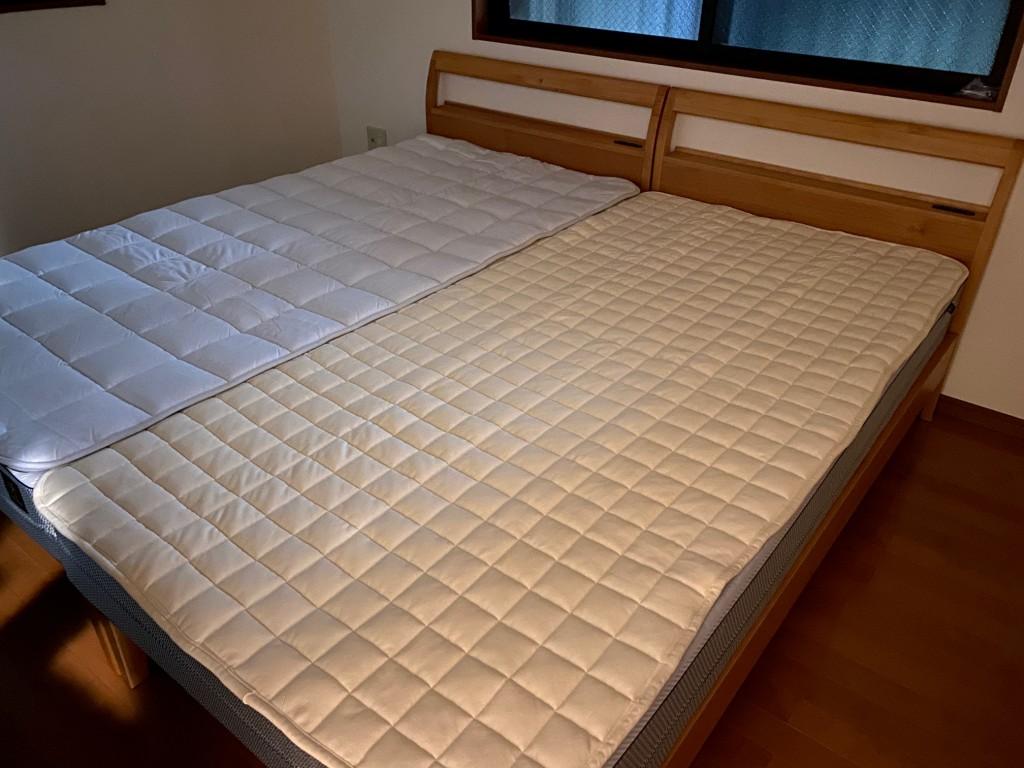 大府市K様邸にFITLABOオーダーメイドマットレス&ベッドパッド&ベッドフレーム&オーダー枕を納品させて頂きました!