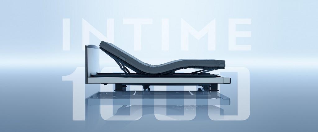 インタイム1000電動ベッドとオーダーメイドマットレスの組み合わせ♪