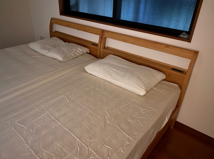 マットレス&ベッド&枕を納品♪