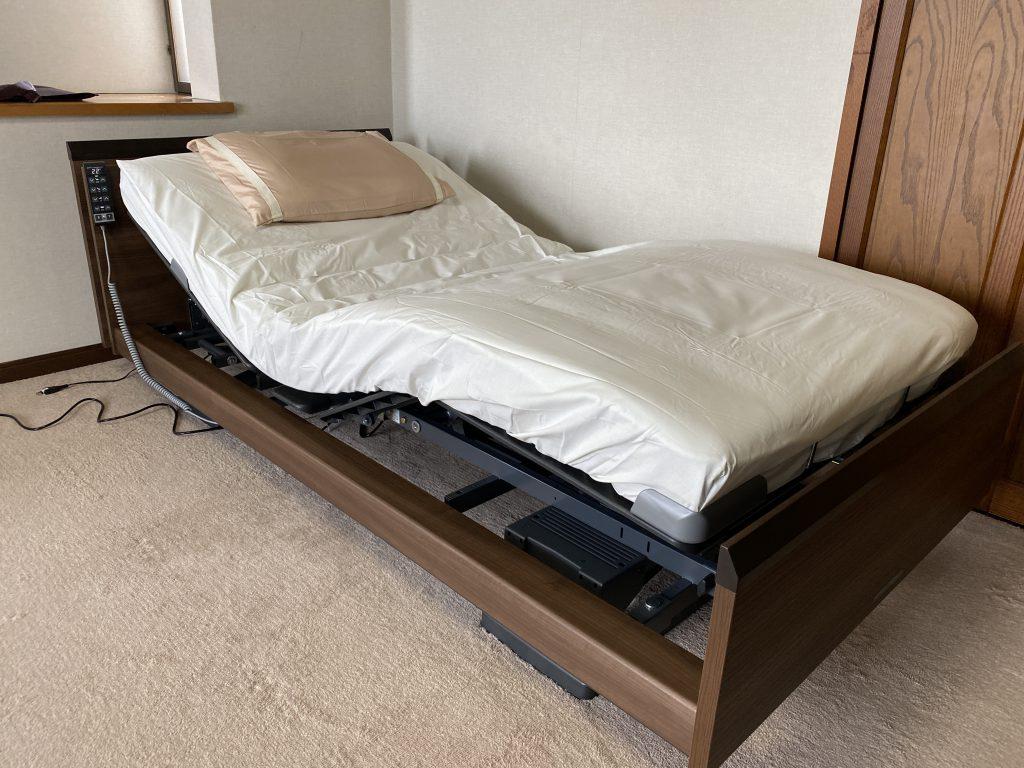 インタイム3000電動ベッドを、豊橋市Y様邸に納品させて頂きました♪