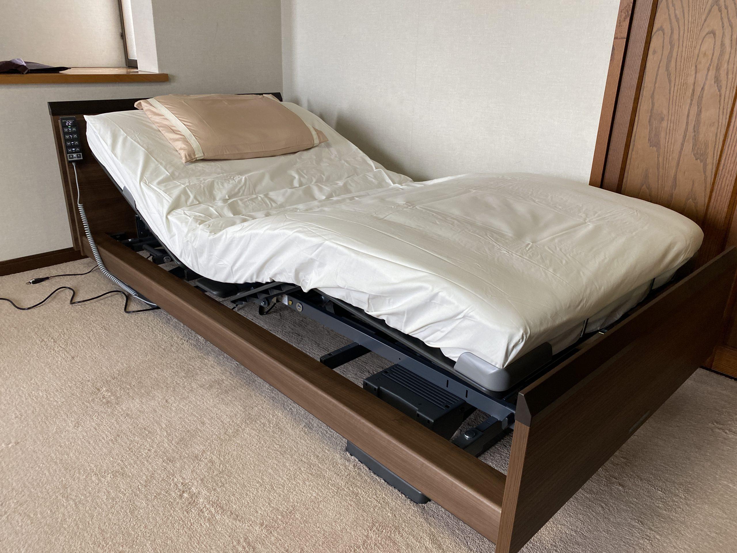 インタイム3000電動ベッドを納品させて頂きました♪