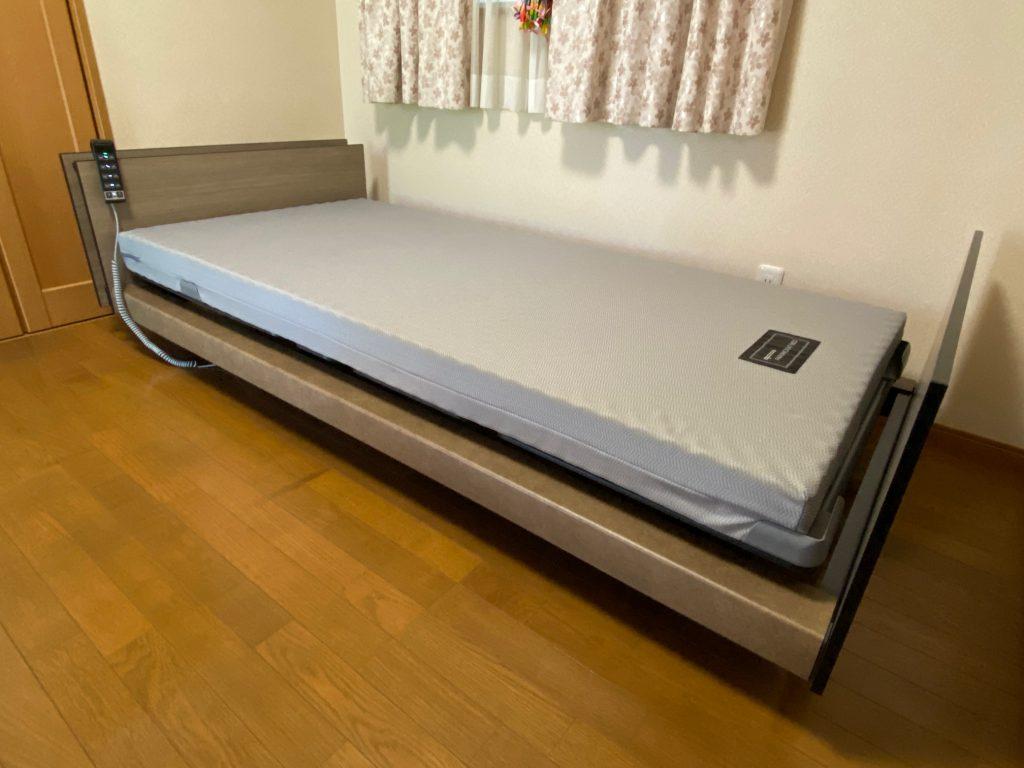 【パラマウントベッド納品事例】西尾市O様邸、お母さんが使うインタイム1000SS♪