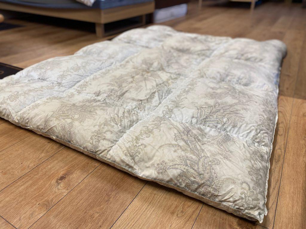 西川リビング(現西川)の羽毛布団をリフォーム。名古屋市千種区K様の事例。